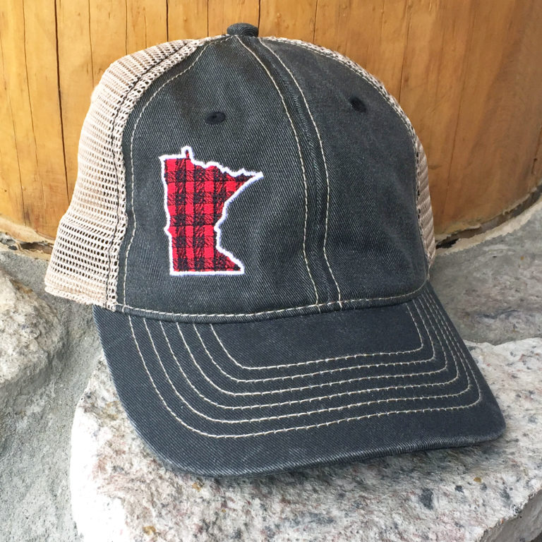MN State Plaid Hat