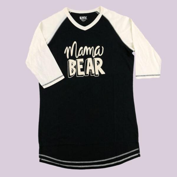 Mama Bear Pajama Tee