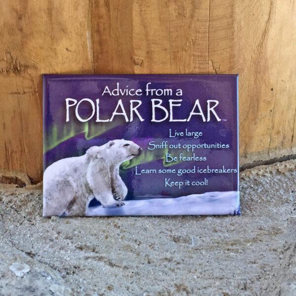 Advice From Polar Bear Magnet