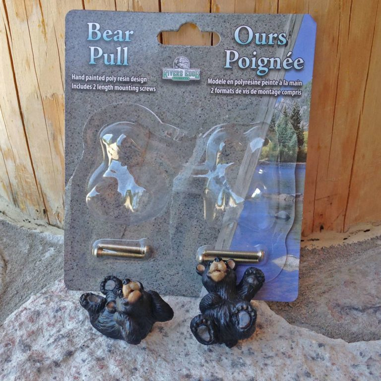 Black Bear Cabinet Knobs