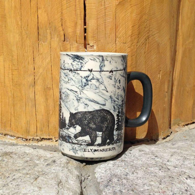 Sketch Style Bear Mug