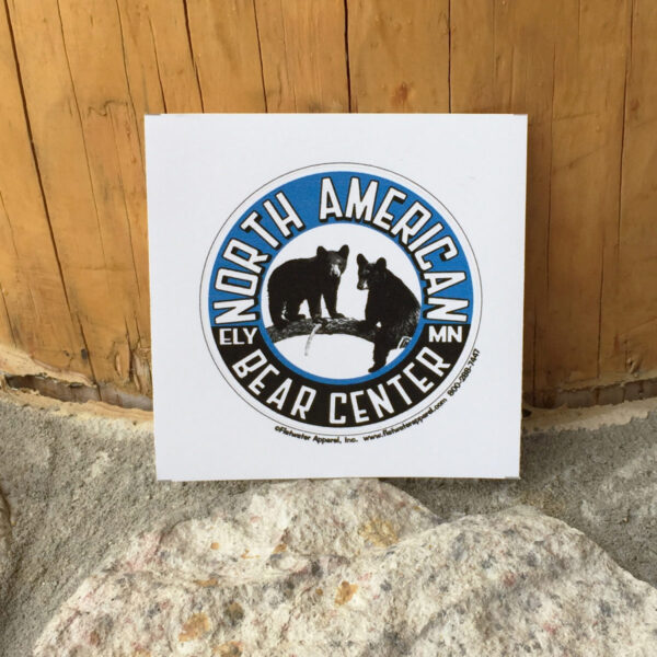North American Bear Center Circle Sticker