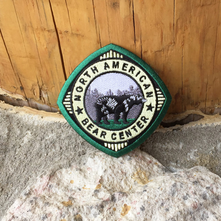 Diamond North American Bear Center Patch