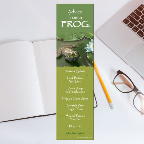 Bookmark: Advice From Frog
