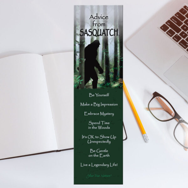 Bookmark: Advice from Sasquatch