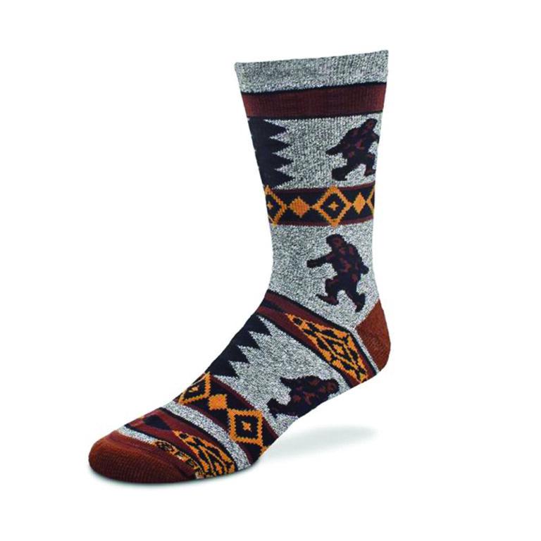 Bigfoot Blanket Motif Sock