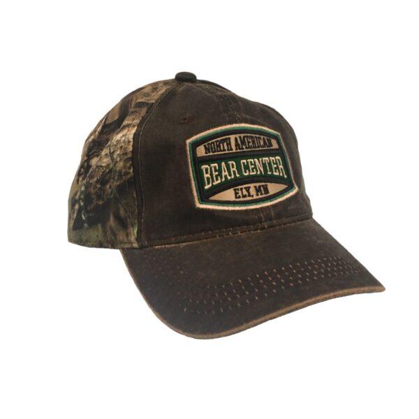 Mossy Oak Camo cap with dk brown