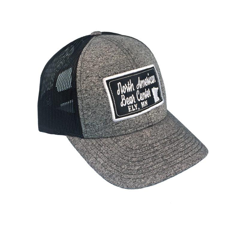 Gray/Black Trucker Cap