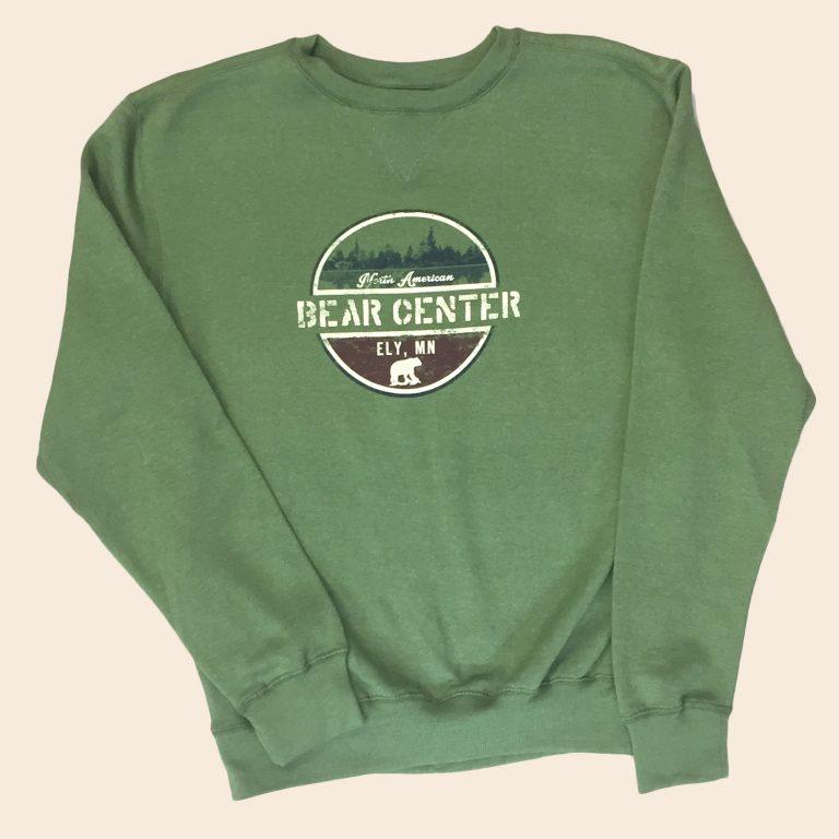 Heather Green Crewneck Sweatshirt