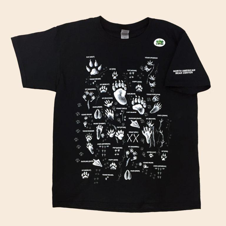 Youth Animal Tracks Tshirt