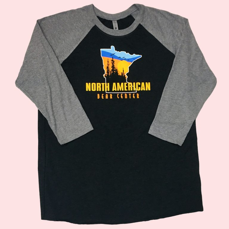 Black and Gray Baseball Shirt