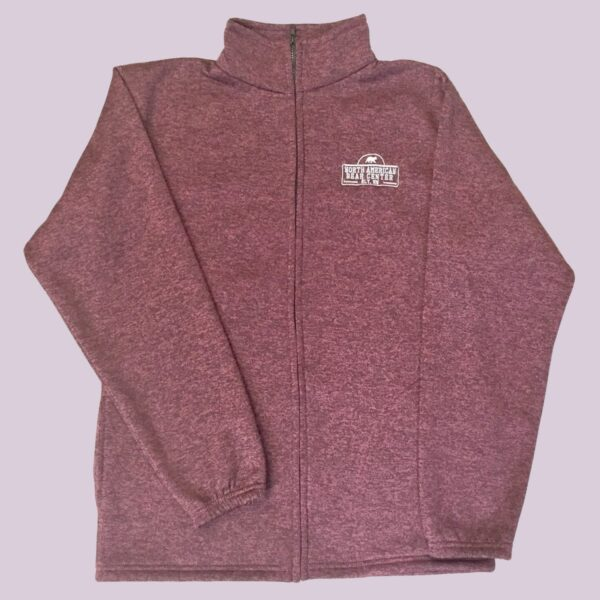 Maroon Full Zip Jacket