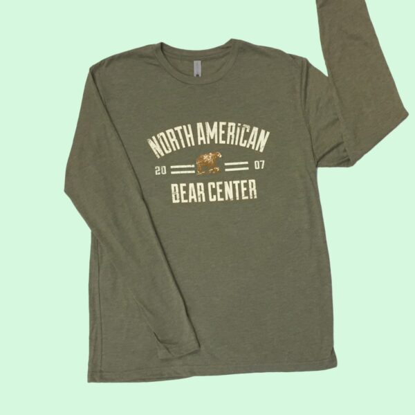 Military Green Long Sleeve Tshirt