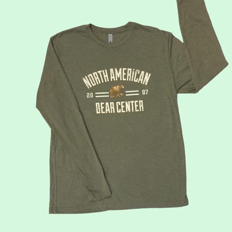 Military Green Long Sleeve Tshirt