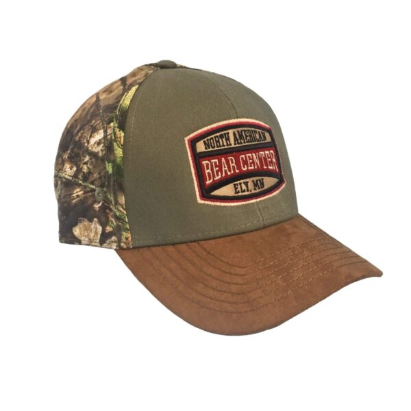 Mossy Oak Camo Cap with Olive