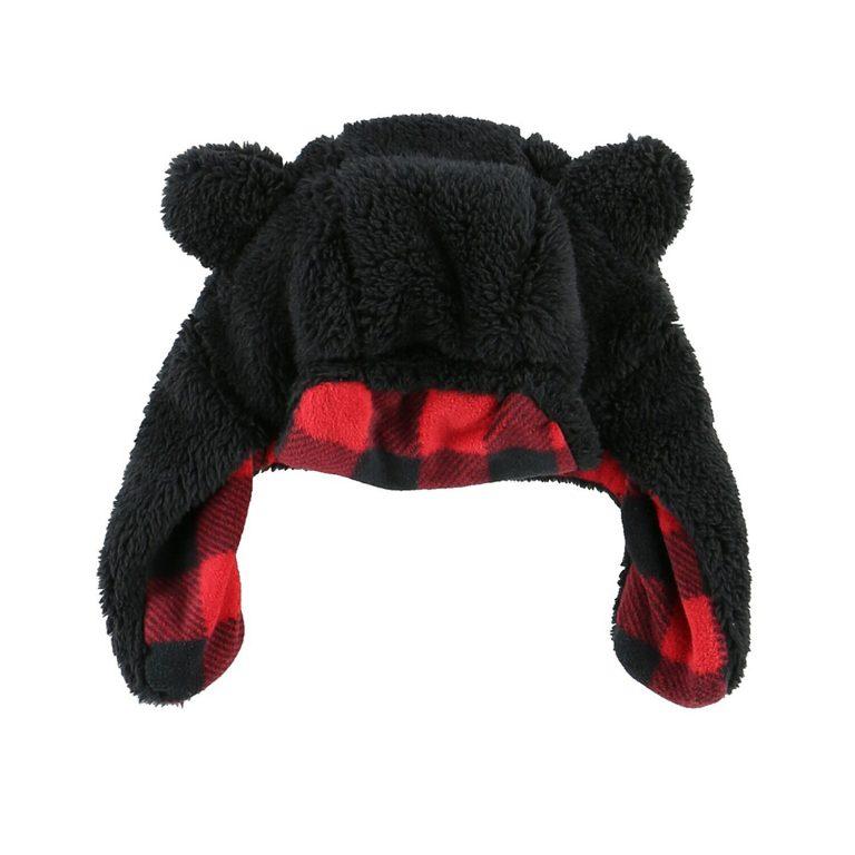 Black Bear Infant Hat