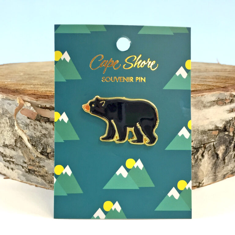 Enamel Bear Pin