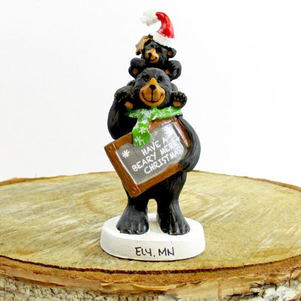 Berry Xmas Bear Ornament