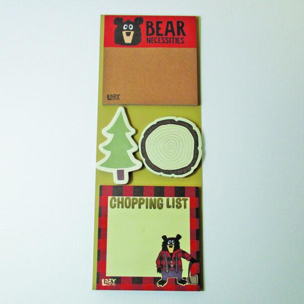 Bear Sticky Note Set
