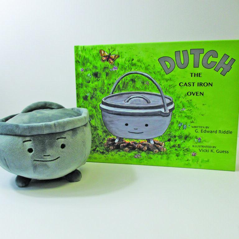 Dutch the Cast Iron Oven & Plush