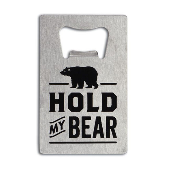 Bear with Me Bottle Opener