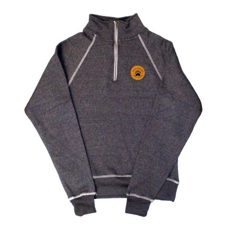 1/4″ Zip Sweatshirt with Patch