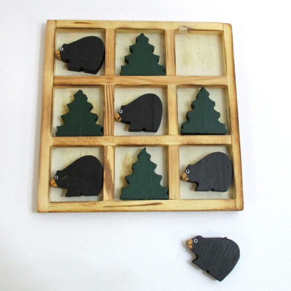 Tic Tac Toe Bear & Tree