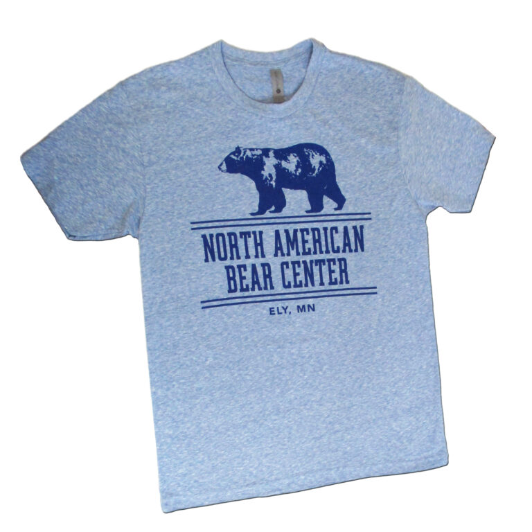 Snow Blue Bear Tshirt