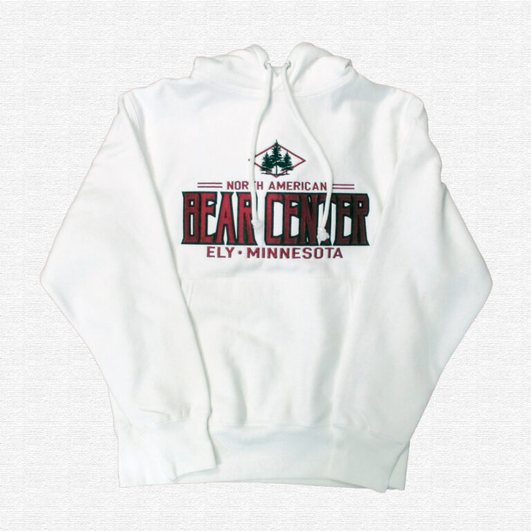 White Hoody with Red NABC